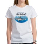 Shark- got surfers? Women's T-Shirt