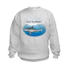 Shark- got surfers? Sweatshirt