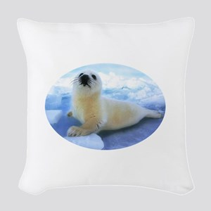Didnt_Fit_8x8_white Woven Throw Pillow