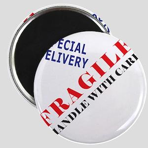 Fragile Baby Shirt Back Magnet