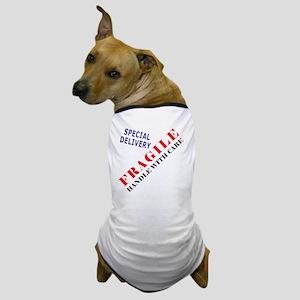 Fragile Baby Shirt Back Dog T-Shirt