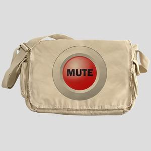 Mute Button Messenger Bag