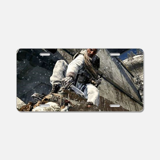 Call of Duty Aluminum License Plate