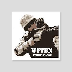 """sniper1 Square Sticker 3"""" x 3"""""""
