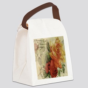 cafeapparelroses Canvas Lunch Bag