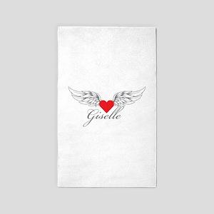 Angel Wings Giselle 3'x5' Area Rug