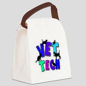 vet tech Canvas Lunch Bag
