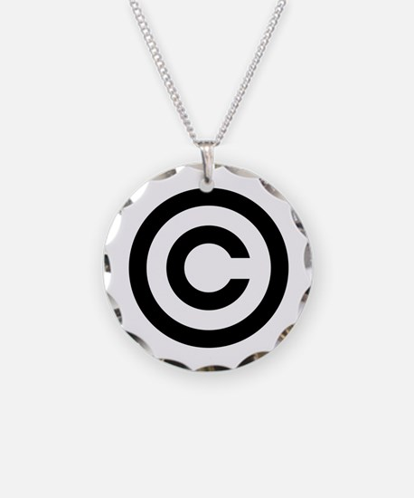 Copyright Necklace