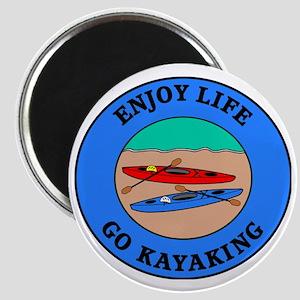 kayaking4 Magnet