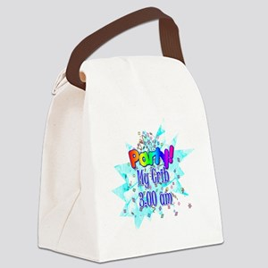 party - my crib Canvas Lunch Bag