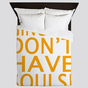 GINGERS DON'T HAVE SOULS! Queen Duvet