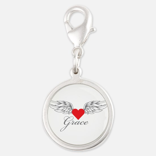 Angel Wings Grace Charms
