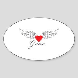 Angel Wings Grace Sticker