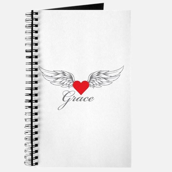 Angel Wings Grace Journal