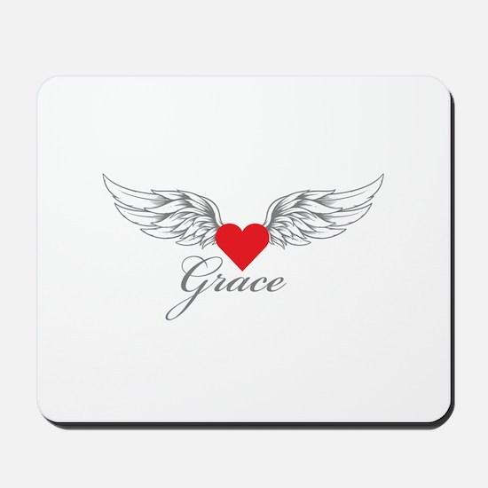 Angel Wings Grace Mousepad
