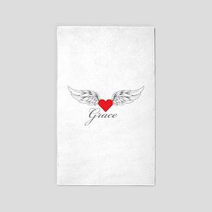 Angel Wings Grace 3'x5' Area Rug