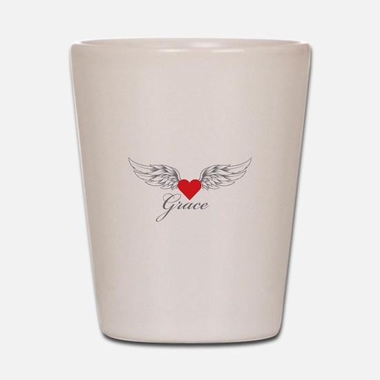 Angel Wings Grace Shot Glass