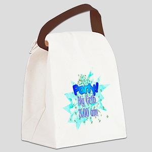 party - my crib - boy Canvas Lunch Bag