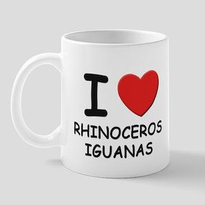 I love rhinoceros iguanas Mug