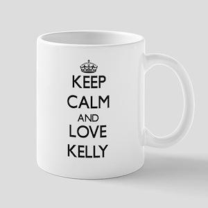 Keep Calm and Love Kelly Mugs