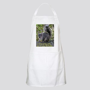 Squirrel Birthday Card - Birdie Apron