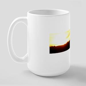 capecodsunset10x3 Large Mug