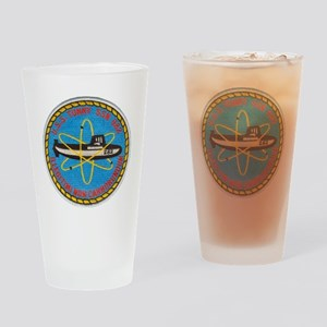 tunny patch transparent Drinking Glass