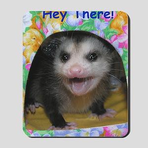 Possum Birthday Card - Hey There Mousepad