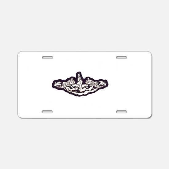 tunny white letters Aluminum License Plate