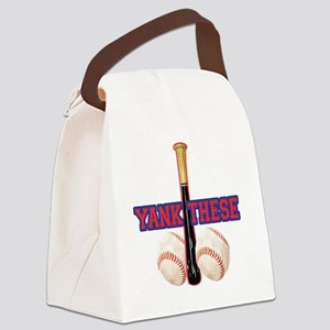 yank_these_balls_1 Canvas Lunch Bag