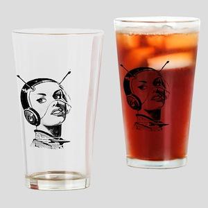 Spacegirl Drinking Glass