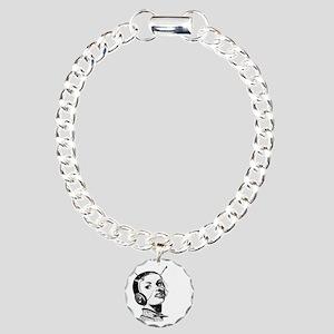 Spacegirl Charm Bracelet, One Charm