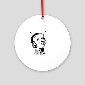 Spacegirl Round Ornament