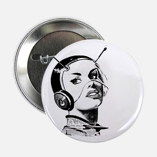 "Spacegirl 2.25"" Button"