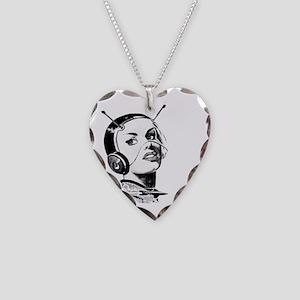 Spacegirl Necklace Heart Charm
