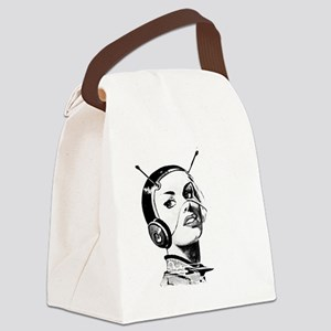 Spacegirl Canvas Lunch Bag