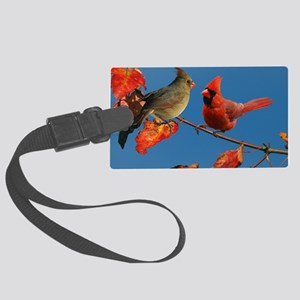 9x12_print Large Luggage Tag