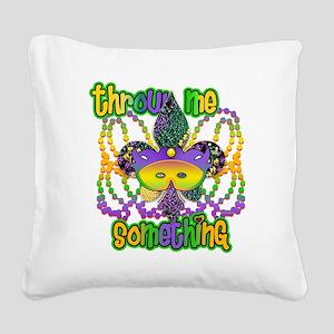 throwMEsomeNoFTrs Square Canvas Pillow