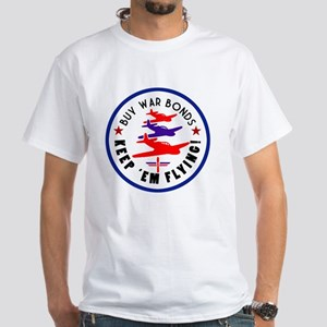warbondstree White T-Shirt