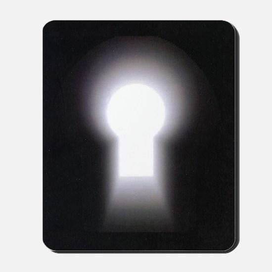 logo only Mousepad