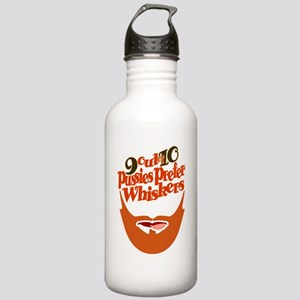 PUSSIES PREFER WHISKER Stainless Water Bottle 1.0L
