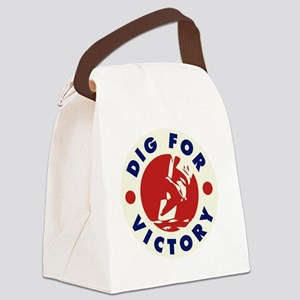 digforvictory2 Canvas Lunch Bag