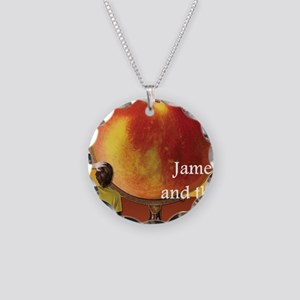james Necklace Circle Charm