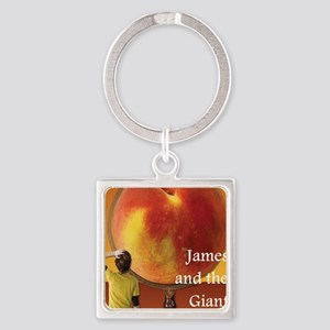 james Square Keychain