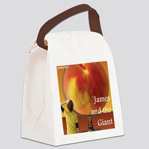 james Canvas Lunch Bag