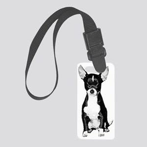 Pepe the Chihuahua Small Luggage Tag