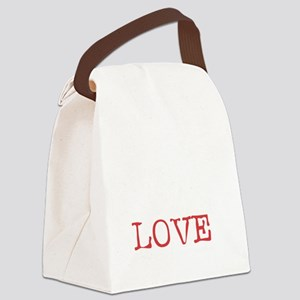 russialove_black Canvas Lunch Bag