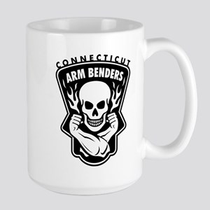 CT Arm Benders White Mugs