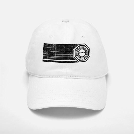 dharma-initiative-retro-vintage Baseball Baseball Cap