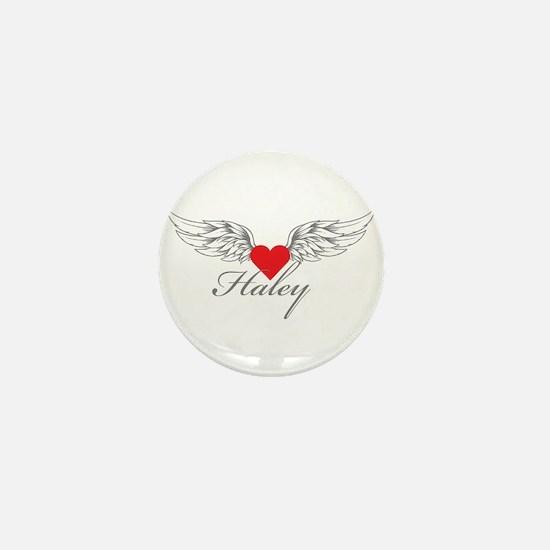 Angel Wings Haley Mini Button